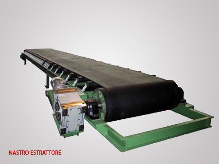 Trasporti meccanici prodotti gvf impianti - Tappeto trasportatore ...